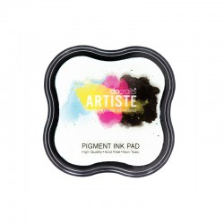 Pigment ink pad Artiste - White