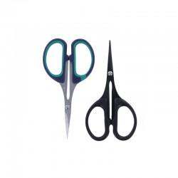 Set 2 scissors 11cm, 1 teflon + 1 fine cuts