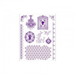 Clear stamps set cameo