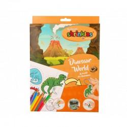 Shrinkles Dinosaur World Bumper Box