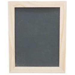 Wooden chalkboard 215mm x 170mm x 9mm