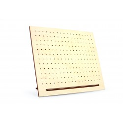Plywood jewelry stand with holes 300mm x 250mm x 80mm