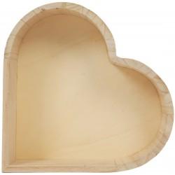 HEART TRAY 220x190x50