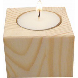 SQUARE CANDLE HOLDER 40X60X60