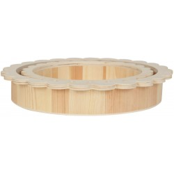 SET 2 ROUND FANTASY TRAYS D295/230