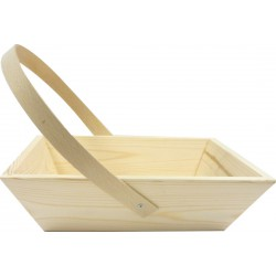 Grapes basket with handle 265 x 205 x 70mm