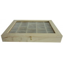 WALL SHELF/CUPBOARD-17 SECTIONS  280X230mm