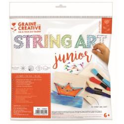 String art junior kit 220mm x 265mm x 20mm - Ocean