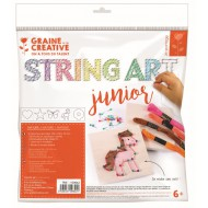 String art junior kit 220mm x 265mm x 20mm - Nature