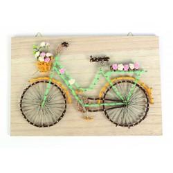 String art raw board 300mm x 200mm x 9mm - Bike