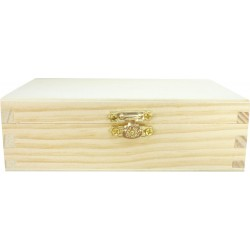 HINGED BOX WITH CLASP 150X90X50mm