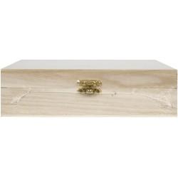 SQUARE TEA BOX - 4 SECTION
