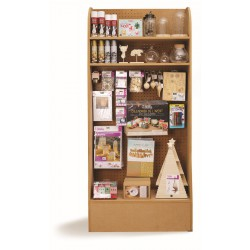 Display - Wooden Christmas deco (filled)