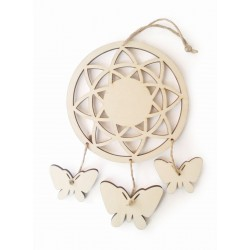 Dreamcatcher 125mm x 215mm x 2mm - Butterflies
