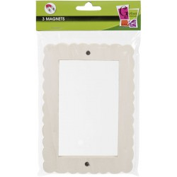 3 MAGNETIC PHOTO FRAME FANTASY STYLE 170x120mm