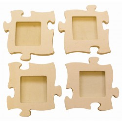 4 SMALL PUZZLE FRAME 160x160x10mm