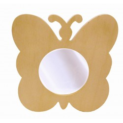 SMALL BUTTERFLY MIRROR  100X140X11
