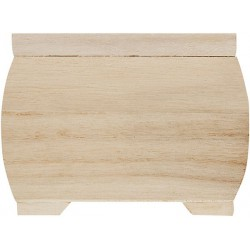 PLYWOOD CHEST  WITH MAGNET CATCH 115X85X85mm