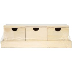 3 BOXES WITH VALVES 265x100x80mm