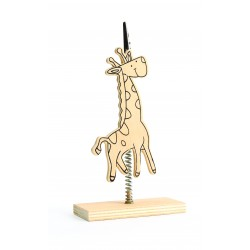MEMO HOLDER 160X90X40 GIRAFFE