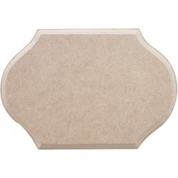 MDF CONVENTIONAL SHAPED DOOR PLATE