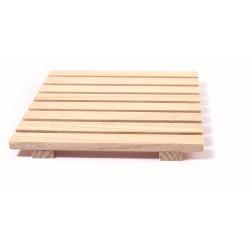 Wooden trivet 170mm x 170mm x 16mm