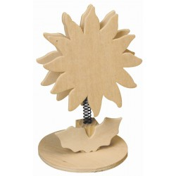 MEMO CLIP ON SPRING SUN  FLOWER 125mm