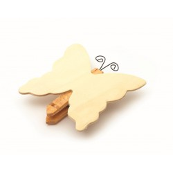 Magnet memo clip 85mm x 80mm - Butterfly