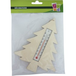 THERMOMETER FIR TREE 170x135x5mm