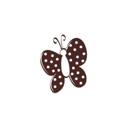 Wooden stamp - Butterfly