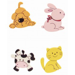 Stickers - Animals (4 pcs)
