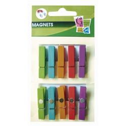 10 PEGS MAGNET ASSORTMENT 35mm