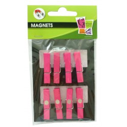 8 PEGS MAGNET PINK 35mm