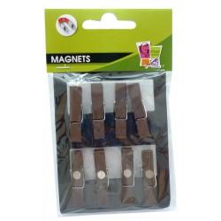 8 PEGS MAGNET BROWN 35mm