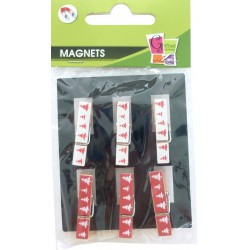 6 PEGS NORDIC MAGNET 35MM