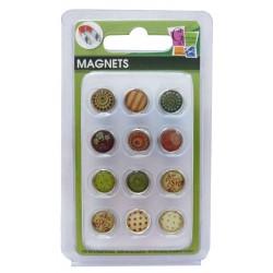12 EPOXY MAGNETS FALL 10mm
