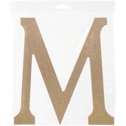 MDF LETTER  M  220X12 mm