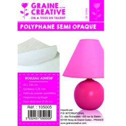Roll white self adhesive polyprofelene 60mm x 120mm