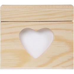 CUTTING HEART BOX 80x80x70
