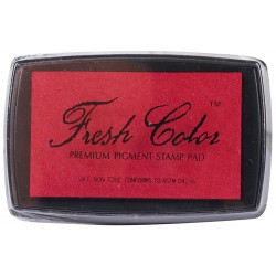 RED EMBOSSING INK PAD