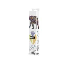 Diamond painting kit 30cm x 30cm - Olifant
