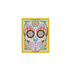 Diamond painting kit 47cm x 57cm - Mexican skull