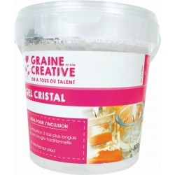 Cristal gel kleurloos 800g + 8 lonten