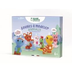 Candle making box - Animals