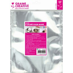 PACK OF 6  DOUBLE-BOILER BAGS Double-boiler bags (6 pcs)