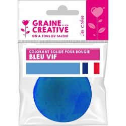 SOLID COLOURING FOR CANDLE - 20 gr - BLUE