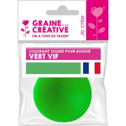 SOLID COLOURING FOR CANDLE - 20 gr - GREEN