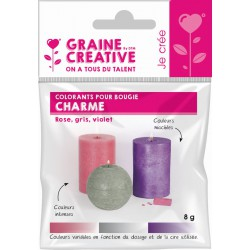 COLORANTS FOR CANDLE- CHARM