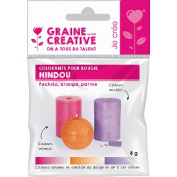COLORANTS FOR CANDLE -  HINDOU
