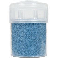 Jar colored sand 45g - Turquoise blue n°1